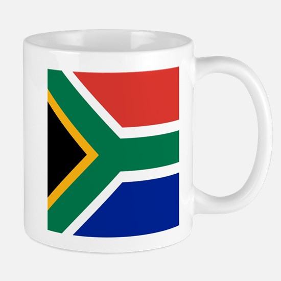 Flag of South Africa Mugs