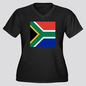 Flag of South Africa Plus Size T-Shirt