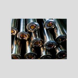 Bullets 5'x7'Area Rug