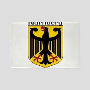 Nurnberg, Germany Rectangle Magnet