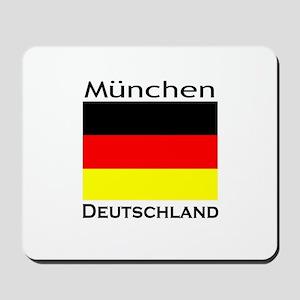 Munchen, Deutschland Mousepad