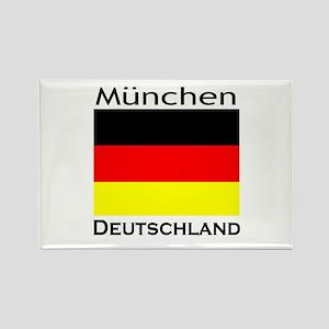 Munchen, Deutschland Rectangle Magnet