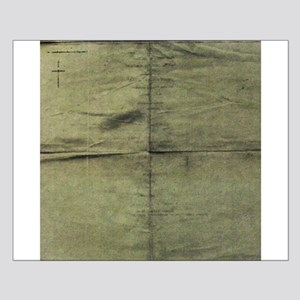 Army green silk square texture Posters