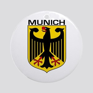 Munich, Germany Ornament (Round)