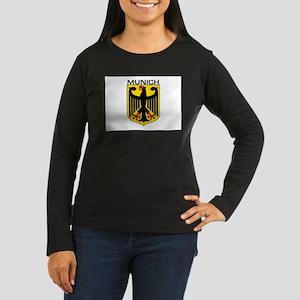 Munich, Germany Women's Long Sleeve Dark T-Shirt