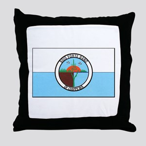 Bois Forte Band of Chippewa Throw Pillow