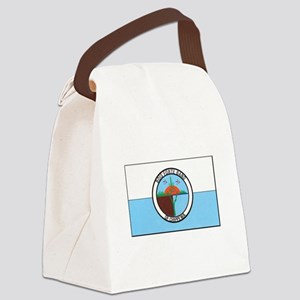 Bois Forte Band of Chippewa Canvas Lunch Bag
