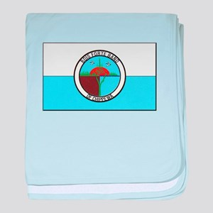 Bois Forte Band of Chippewa baby blanket