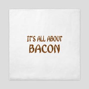All About Bacon Queen Duvet