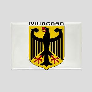 Munich, Germany Rectangle Magnet