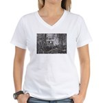 Doggy in the Window Women's V-Neck T-Shirt