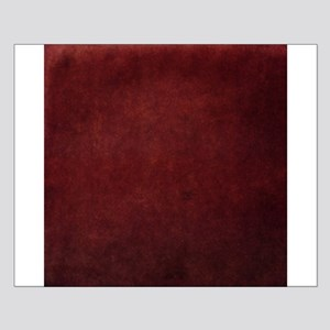 Red suede texture Posters