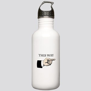 This Way Water Bottle