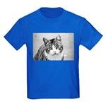 AEUC Kids Tabby Cat T-Shirt