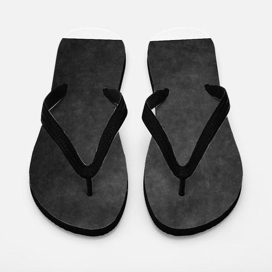 Grey suede texture Flip Flops