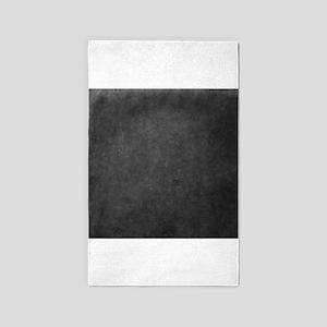 Grey suede texture 3'x5' Area Rug