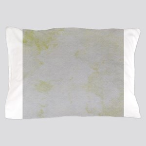 Yellow cloud image Pillow Case