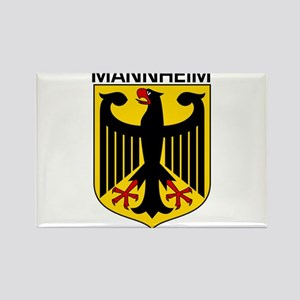 Mannheim, Germany Rectangle Magnet