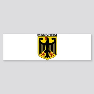 Mannheim, Germany Bumper Sticker