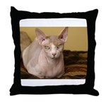 AEUC Sphynx Throw Pillow