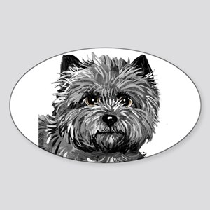 Cairn Terrier Ruby Slipper Sticker