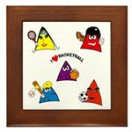 Sneable Sports Five Collection Framed Tile