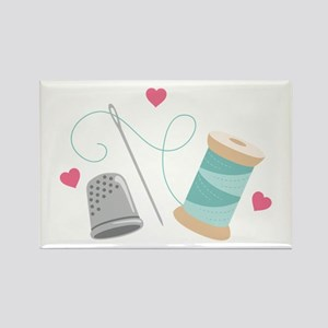 Heart Sewing supplies Magnets