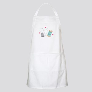 Heart Sewing supplies Apron