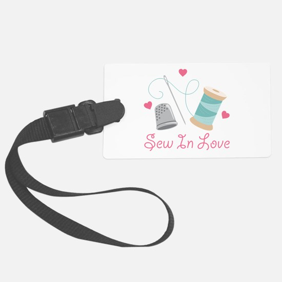 Sew In Love Luggage Tag