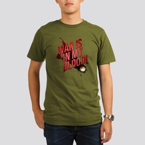 War Is In My Blood Organic Men's T-Shirt (dark)