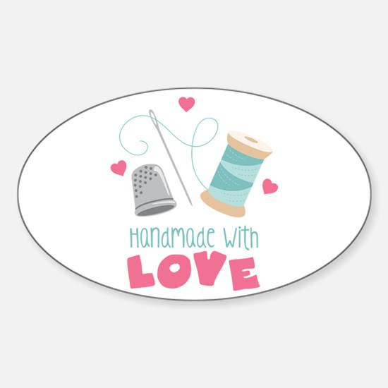 Handmade With Love Decal