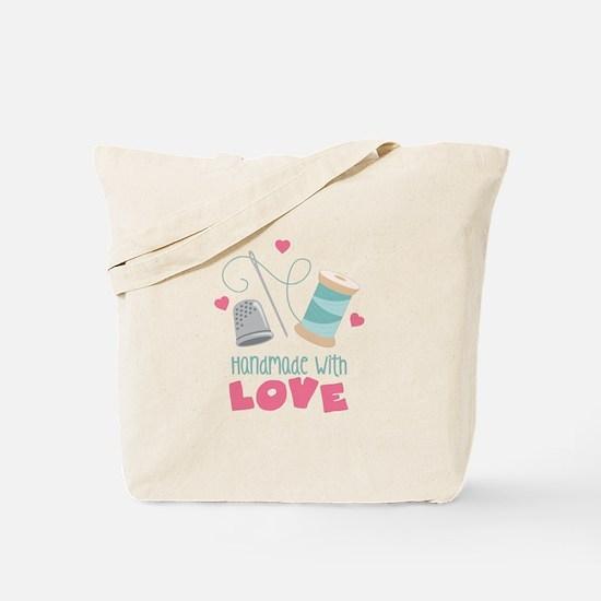 Handmade With Love Tote Bag
