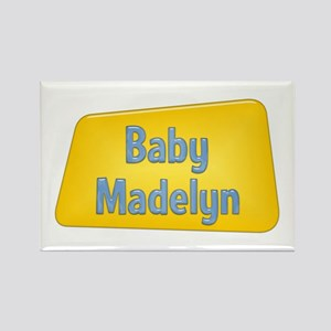 Baby Madelyn Rectangle Magnet