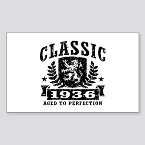 Classic 1936 Sticker (Rectangle)