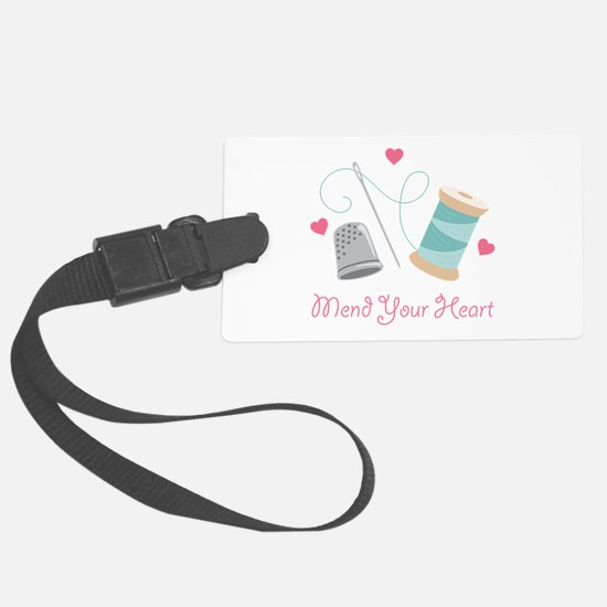 Mend Your Heart Luggage Tag