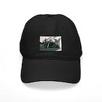 Palm Tree Window Black Cap