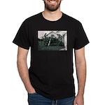 Palm Tree Window Dark T-Shirt