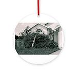 Palm Tree Window Ornament (Round)