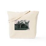 Palm Tree Window Tote Bag