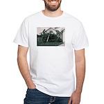 Palm Tree Window White T-Shirt