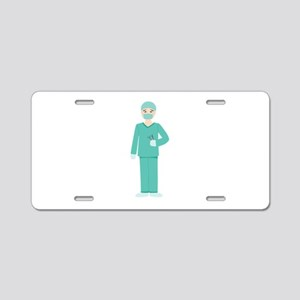 Male Surgeon Aluminum License Plate
