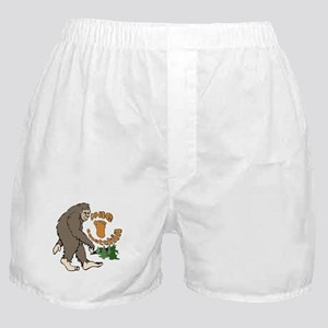 Bigfoot Gone Squatchin Boxer Shorts