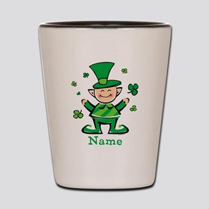 Personalized Wee Leprechaun Shot Glass