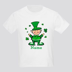 Personalized Wee Leprechaun Kids Light T-Shirt