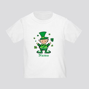 Personalized Wee Leprechaun Toddler T-Shirt