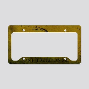 Gadsden4 License Plate Holder