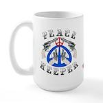 Peace Keeper Guns Large Mug