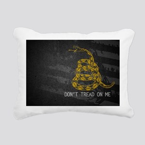 Gadsden5 Rectangular Canvas Pillow