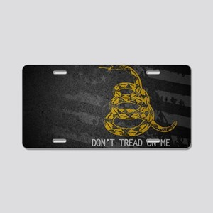 Gadsden5 Aluminum License Plate