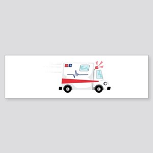 Fast Ambulance Bumper Sticker